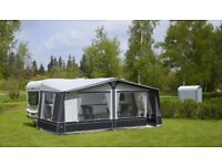 Ventura Pacific 250 Awning, size 1075 cm with matching, never used tall annex