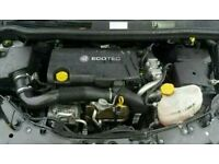 Vauxhall astra j 1.7 cdti a17dtr engine done 60k