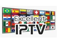 I.P.T.V IPTV FOR ALL DEVICES NO MIDDLE MAN 100% STABLE