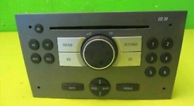 Vauxhall Vectra C 02-06 radio /CD player