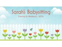 Baby Sitter - First Aider Evenings & Weekends High Barnet / Totteridge & Whetstone / Finchley