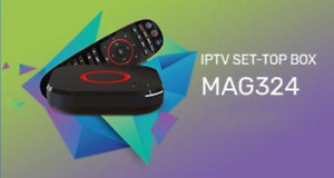 GREAT OFFER MAG324 W2 BOX + 12 MONTHS IPTV SUB ONLY $233