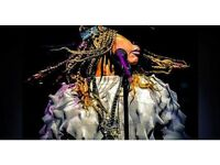 2 Standing Tickets to Erykah Badu TONIGHT Fri 7th July