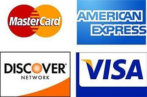 Accept Debit / Credit - Switch Today & Save!