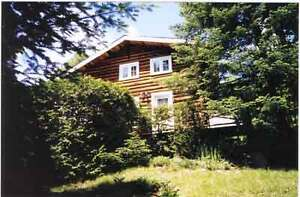 Morin Heights, authentique  chalet bois rond