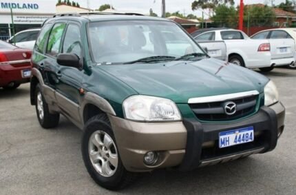 2001 Mazda Tribute Classic Green 4 Speed Automatic Wagon Bellevue Swan Area Preview