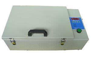 "220V Hot Stamping UV Exposure Unit 12""x7.7"" Exposing Area Item 010003"