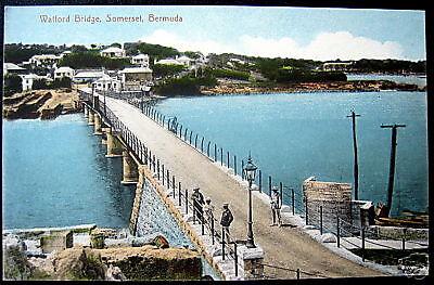 Bermuda ~ 1911 Somerset ~ Watford Bridge