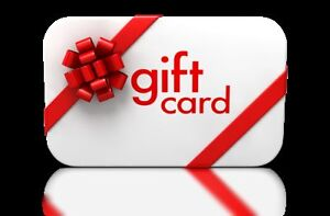 PAINTBALL GIFT CARDS!