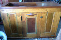 Antique pine dry sink for sale