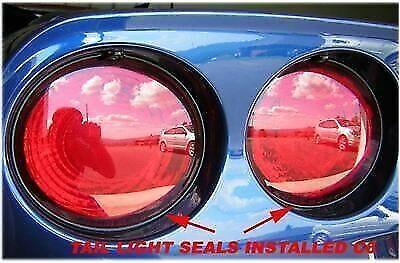 CORVETTE * 97-2013 * C5 * C6 * TAIL LIGHT SEAL / SEALS * GM GRADE * COMPLETE KIT
