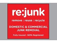 RE:JUNK Commercial & Domestic Junk / Waste Removal. Home / Office / Refurb Clearances.