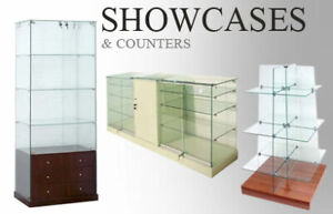 New ~ Glass showcases, Display cabinets, Glass display towers