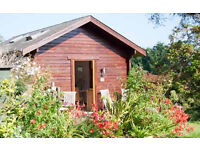 Easter Holidays in Cornwall - Cherry Tree Cabin - Sleeps 2 - St.Ives