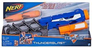 NERF N-STRIKE THUNDERBLAST MISSILE LAUNCHER TOY SOFT DART BLASTER GUN NEW!