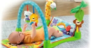 Fisher Price 3-in-1 Mix and Match Musical Activity Gym Play Mat