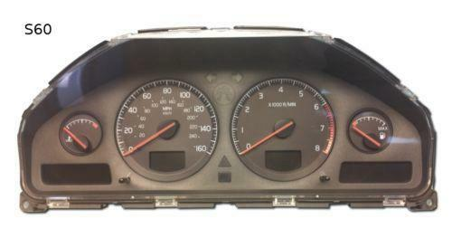 volvo instrument cluster ebay. Black Bedroom Furniture Sets. Home Design Ideas