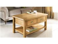 New Premium Oak Coffee Table