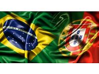 Portuguese lessons (THE FIRST HOUR IS FREE)