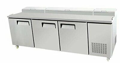 93 3 Door Commercial Refrigerated Pizza Prep Table Mpf-8203