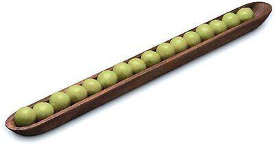 Fox Run Ironwood Gourmet Acacia Wood Olive Canoe (28205)