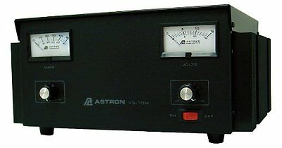Astron Power Supply - 70 Amp With Meters Adjustable Volt - Amp Vs-70m