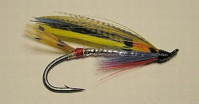4 and 6 Sizes 2 Green Butt Spey Atlantic Salmon Flies 3 Fly Assortment