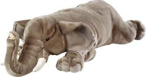 Wild Republic Plüschtier Stofftier Kuscheltier Jumbo XXL Elefant Klaus 76 cm