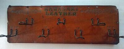 10% Off SALE! Vintage Leather Commercial Men's Belt Wall Display Peg Brd Hangers