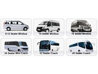 MiniBus Hire London (Driver Included) .. 8-24 Seater's Available .. Luxury Models Also Available