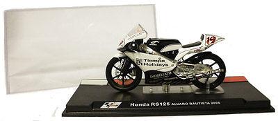 Ixo/altaya Alt47 Honda Rs 125 2005 - Alvaro Bautista 1/24 Scale