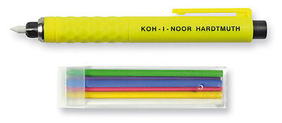 Tailor Chalk Mechanical Pencil Set KOH-I-NOOR S128 Dressmaker Fabric Snip