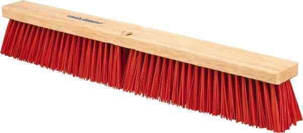 "PRO-SOURCE 24"" Heavy Duty Synthetic Push Broom"