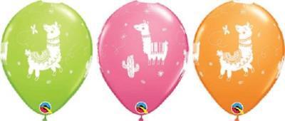 10 PC LLAMA Latex Balloons (10) PERU Party FIESTA South America FREE - Llama Party