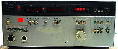 Hp Hewlett-packard 4193a Vector Impedance Meter