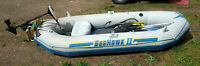 SeaHawk II inflatable with electric motor