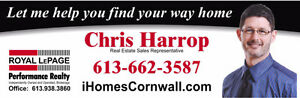 Thinking of buying or selling real estate in Cornwall and Area? Cornwall Ontario image 1