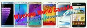 BRAND NEW OR GENTLY USED SAMSUNG GALAXY NOTE 2/ 3/ 4/ 5 Kitchener / Waterloo Kitchener Area image 1