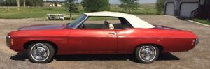 GORGEOUS 1969 CHEVROLET IMPALA CONVERTIBLE!  SHOW & SHINE READY!