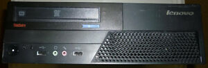 Great PC Lenovo M58 IntelCore2Quad CPU/4GB DDR3/80GB HDD/Win7HP