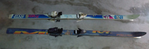 Skis for sale, 178 cm - 2 pairs