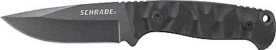 Schrade SCHF59 Full Tang Fixed Blade Knife with Drop Point Blade