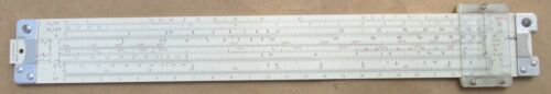 Pickett N-515-T Slide Rule with Leather Case Cleveland Institute of Electronics