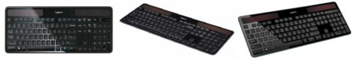 Logitech K750 Wireless Solar Keyboard for Windows Solar Rech