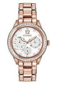 Citizen Womens FD2013-50A Silhouette Crystal Analog Display