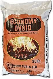 Economy Ovoids - Non Smokeless Solid Fuel Coal - 20kg @ £7.30