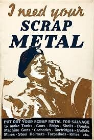 Collect free scrap metal all Edinburgh area