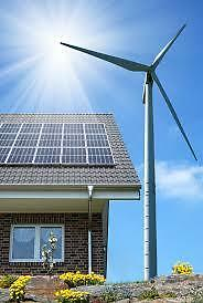 SOLAR AND WIND POWER OFF GRID COMPLETE KIT 1400 W