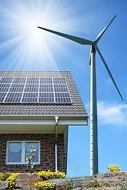 SOLAR AND WIND POWER OFF GRID COMPLETE KIT 1400 W Prince George British Columbia image 1