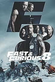 FAST AND FURIOUS 8 DVD FILM - New release and FAST AND FURIOUS 7 DVD FILM